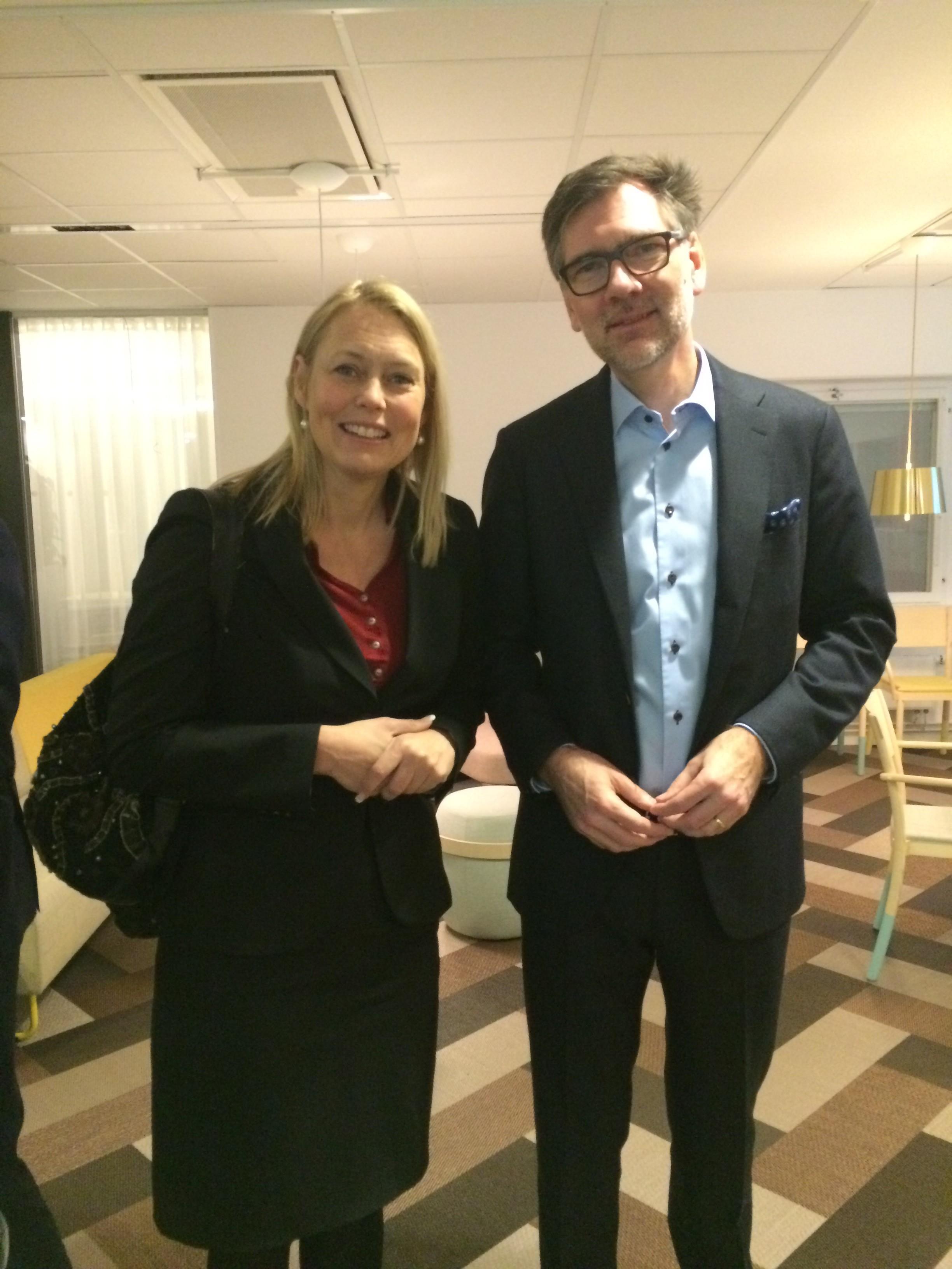 Jenny Gardner and Carsten Harbo